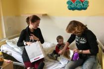 Kladenská nemocnice může dětem nabídnout lepší vyšetření i příjemně