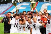 Středočeský výběr vyhrál v Ostravě Kouba Cup.