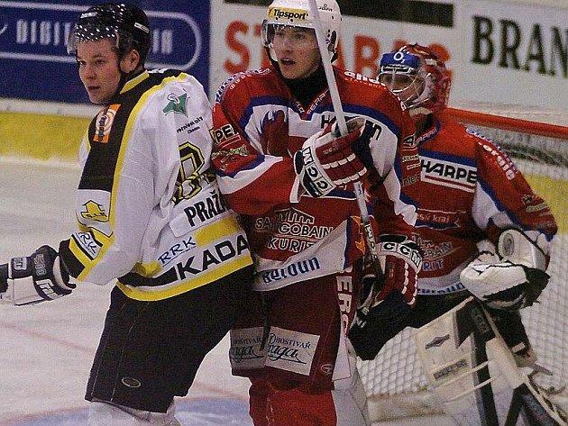 Za Beroun si kdysi zahrál často i obránce Vladimír Kameš (vpravo).