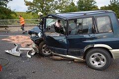 U sjezdu na Kvíc zahynul při nehodě tří vozidel člověk