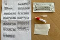 Středočeské vodárny poskytly zaměstnancům antigenní testy.