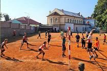 Volejbalový turnaj ve Slaném.