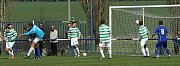 Čechie Velká Dobrá - SK Lhota 1:2 (1:1), utkání I.A, tř. 2011/12, hráno 14.4.2012