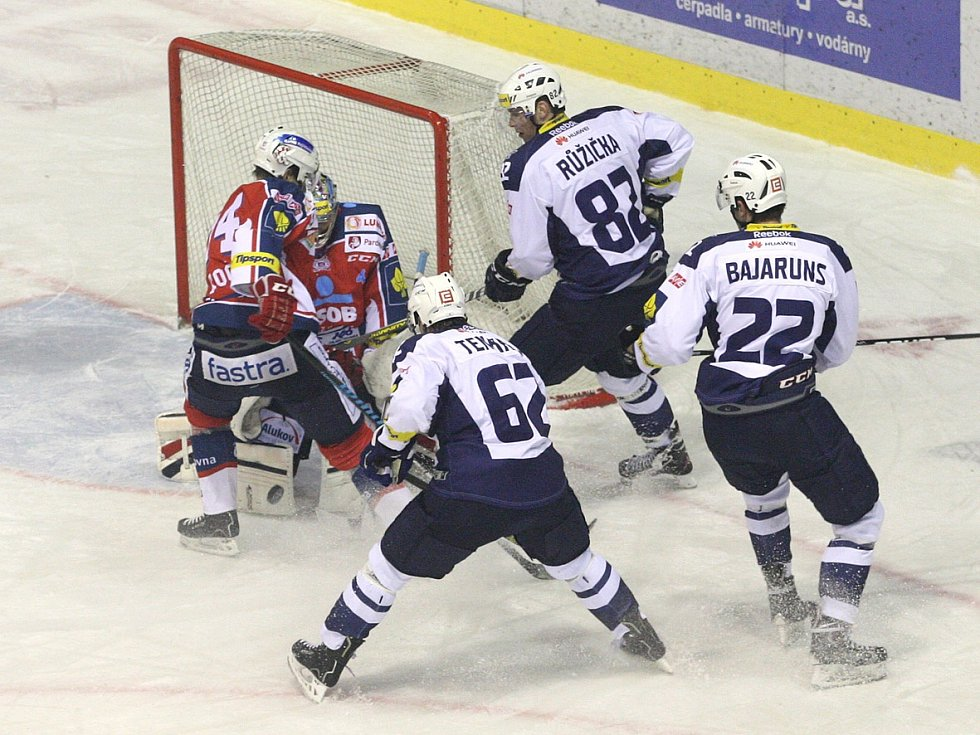 Rytíři Kladno - HC ČSOB Pojišťovna Pardubice, 43. kolo ELH 2013-14, 28.1.14