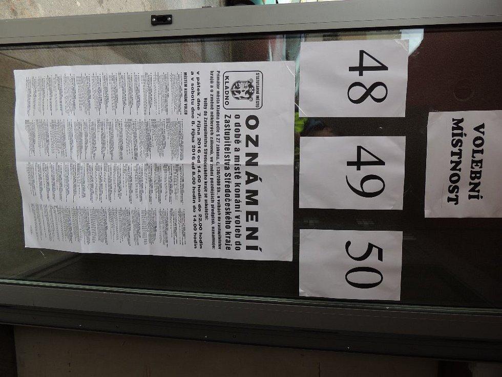 Krajské volby 2016 na Kladensku