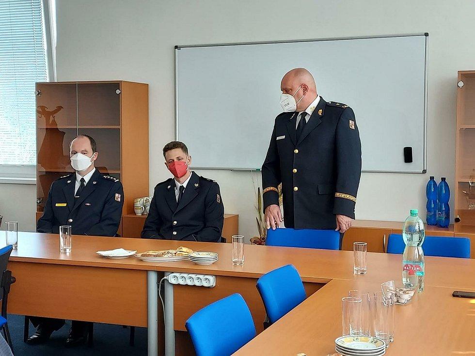 Nové šéfy hasičů mají územní odbory pro Mělnicko a Mladoboleslavsko.