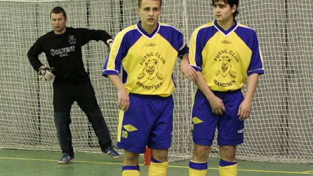 Libor Rychlý vlevo ve zdi s Lukášem Vránou.