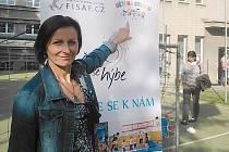 Děti na startu se na 1. ZŠ v Kladně loučily s prvním školním rokem. Manažerka projektu Jitka Literová