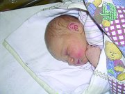 Kristýna Kožíšková, Louny. Narodila se 25. dubna 2012, váha 3,6 kg, míra 52 cm. Rodiče jsou Dita Pihrtová a Petr Kožíšek. (porodnice Slaný)