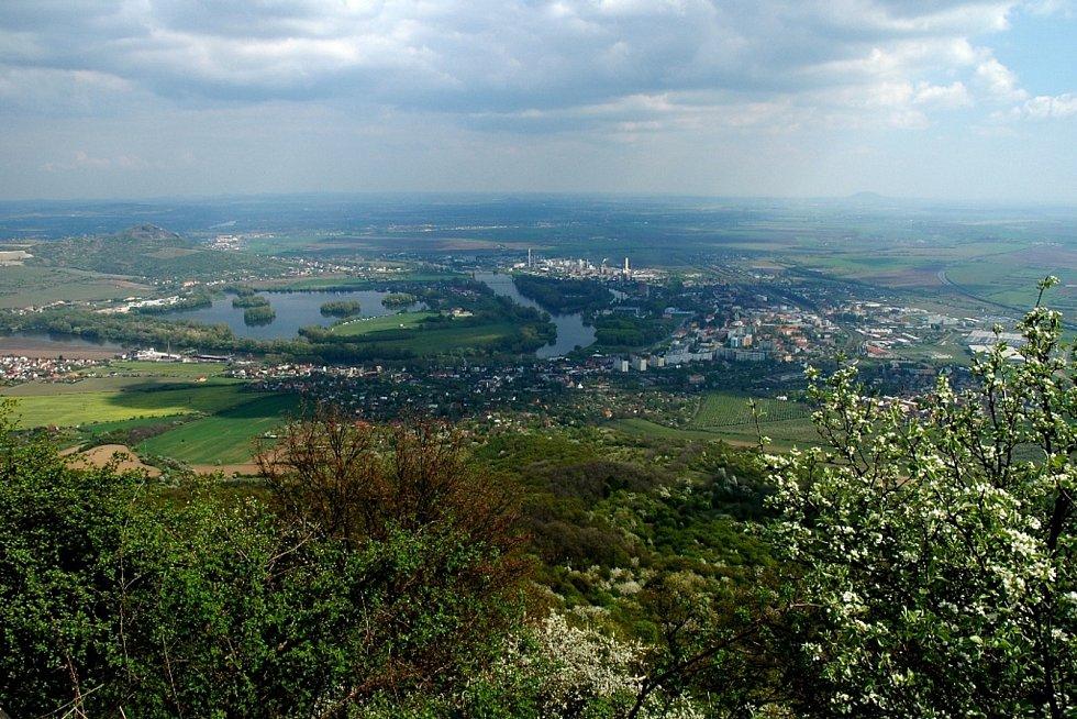 Výlet Jany Jiráskové na Lovoš.