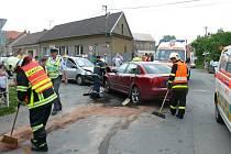 Nehoda ve Svinařově.