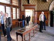Exkurze do bývalého Okresního domu v Šultysově ve Slaném.
