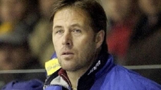 Trenér kladenské juniorky Petr Tatíček.