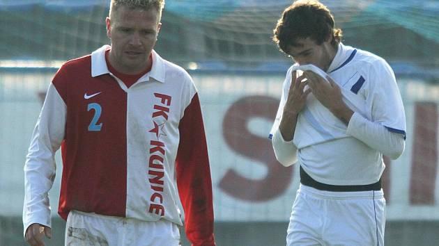 Jiří Veselý a Martin Vodička // SK Kladno -  Kunice  2:2 (1:0) , utkání 14.k. CFL. ligy 2011/12, hráno 12:11.2011
