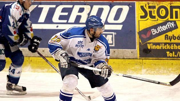 Tomáš Wolf (HC Řisuty) byl už na třech univerziádách.