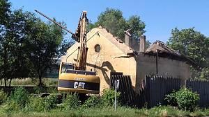 Drážní domek ve Slaném se poroučel k zemi