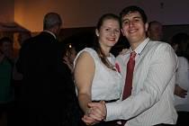 Libovický ples na sále Libo hospody.