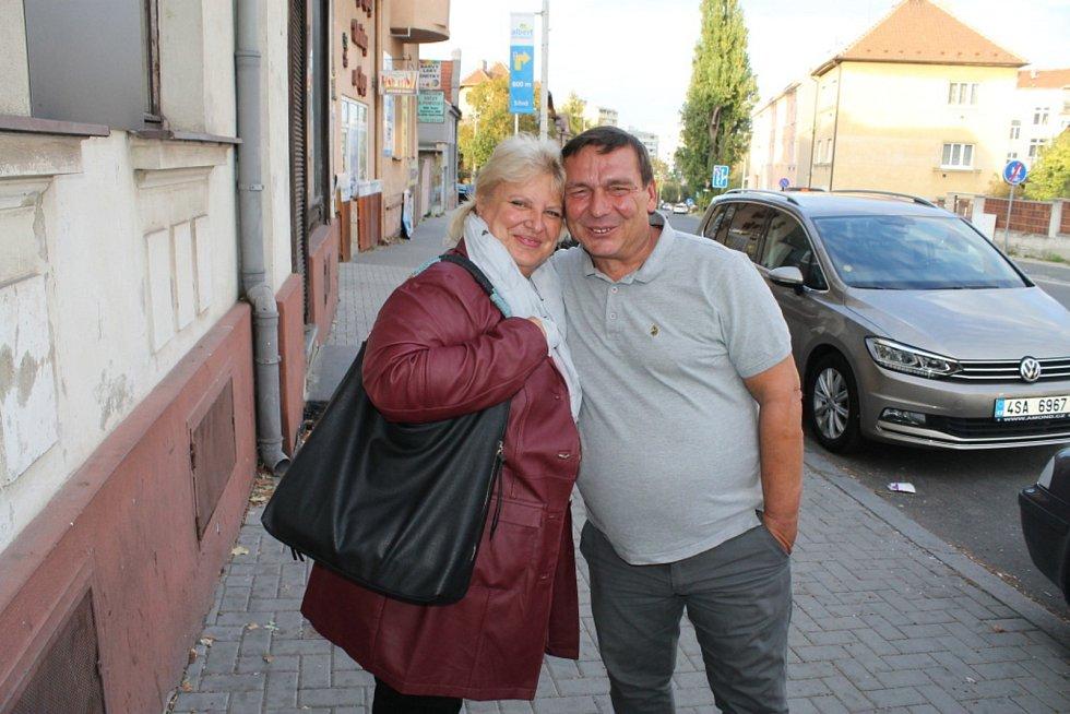 Lídr ANO v Kladně, Jiří Chvojka s manželkou.