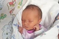 JOHANKA ČAVLOVÁ, SLANÝ. Narodila se 22. listopadu 2018. Po porodu vážila 2,88 kg a měřila 49 cm. Rodiče jsou Nikola Čavlová a Rober Čavl. (porodnice Slaný)