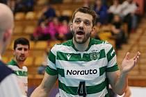 Kladno volejbal cz - SC Portugal Lisboa  0:3,  8th Finals / CEV Volleyball Challenge Cup 2020 , Kladno, 29. 1. 2019