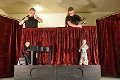 Loutkové divadlo Marionet Matěje Kopeckého se představilo v Buštěhradu.
