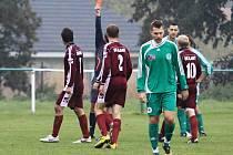 Sokol Hostouň -  - SK Slany 2:1 (1:0), utkání I.A, tř. 2011/12, hráno 23.10.2011