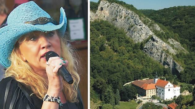 ZPĚVAČKA HANA LOUNOVÁ a skupina Idefix band sobotní country festival v malebné krajině na Berounsku zakončí.