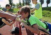 OVOV ve Slaném na jednom z nejnovějších atletických stadionů v republice.