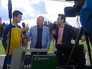 Daniel Vokoun byl nejlepším hráčem utkání, tady je v rozhovoru pro ČT