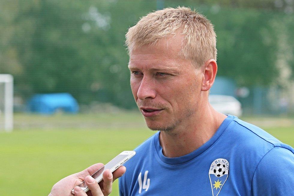 Josef Laštovka - trenér SK Benešov / SK Kladno – SK Benešov 5:6 (1:6), MOL Cup 15. 8. 2020