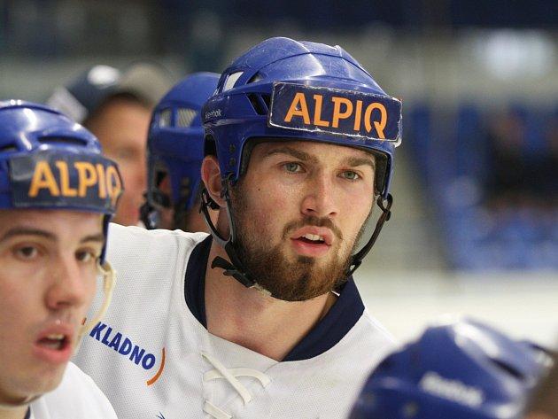 HBC Alpiq Kladno - HBC Autosklo H.A.K. Pardubice 2:3 prodl., Martin Kohout
