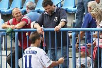 Kladno si poradilo se Zápy a získalo důležité body // SK Kladno -SK Zápy 2:0 (2:0) , utkání 5.k. CFL. ligy 2012/13, hráno 8.9.2012