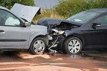 Pondělní nehoda u Stehelčevsi
