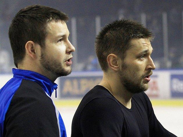 Jan Chábera s Markem Hovorkou.