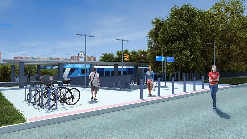 Práce na modernizaci kladenské trati by mohly začít už v roce 2022.