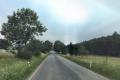 Silnice Velká Dobrá - Nové Strašecí.