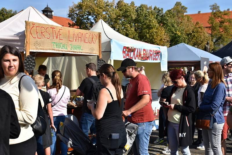 Ze 3. ročníku food festivalu Slaný na talíři.