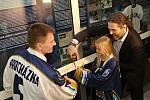 Síň slávy Kladenského hokeje byla slavnostně otevřena v NC Oáza Kladno