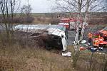 Nehoda autobusu u Lotuše.