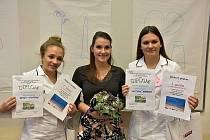 Budoucí kladenské zdravotnice zvítězily v celostátní soutěži MISS sestřička.