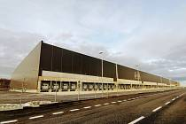 Logistické centrum Lidlu v Buštěhradu u Kladna.