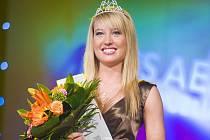 Zlata Hrudková s korunkou Miss Aerobic Star 2009.