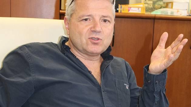 Ředitel středočeské záchranné služby Martin Houdek