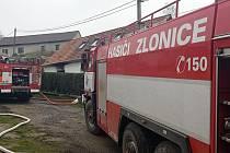 V Břešťanech vyhořel dům od svíčky.