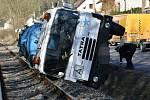 Tragická nehoda cisterny s motocyklem se stala v úterý 30. března 2021 odpoledne v Kovárech u Zákolan.