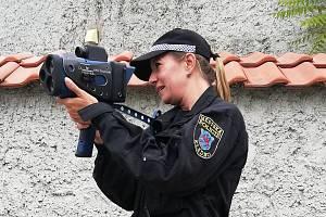 Nový laserový radar Městské policie Kladno.