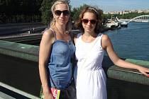 MELISA VANÍČKOVÁ navštívila Francii několikrát i se svou maminkou.