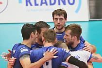Kladno volejbal cz -VK Ostrava 2:3, Extraliga volejbalu, série o bronz, Kladno, 18. 4. 2019