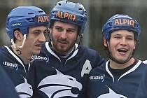 Alpiq Kladno – HBC Hradec Králové 1988 8:1, EL hokejbalu 2018-9 , 9. 3. 2019
