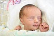 ELIŠKA DOMANJOVÁ, KLADNO. Narodila se 13. prosince 2017. Po porodu vážila 2,38 kg a měřila 47 cm. Rodiče jsou Jana Domanjová a Miroslav Domanj. (porodnice Kladno)